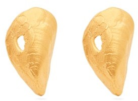 Alighieri The Creator 24kt Gold-plated Earrings - Gold