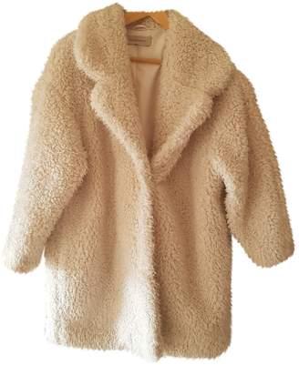 Gerard Darel White Faux fur Coat for Women