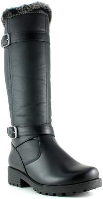 Aquatherm By Santana Canada Faux-Fur Trim Waterproof Riding Boots