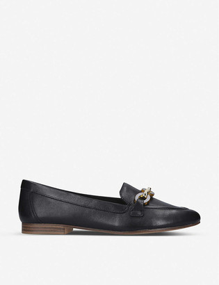 Aldo Gwaulith keeper-detail leather loafers