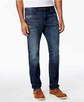 William Rast Men's Straight-Leg Hixon Indigo Jeans