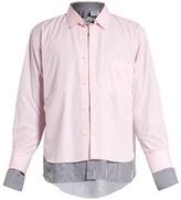 Vetements X Comme des Garçons double-layer shirt