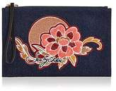 See by Chloe Andy Denim Pouch
