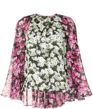 Mary Katrantzou Melissa floral print blouse