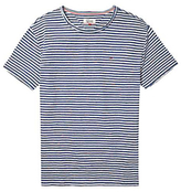 Hilfiger Denim Relax Stripe Crew T-shirt, Ensign Blue/multi
