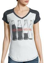 Hybrid Tees Short-Sleeve Coca-Cola Graphic T-Shirt
