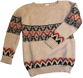 Circus Hotel Ecru Wool Knitwear