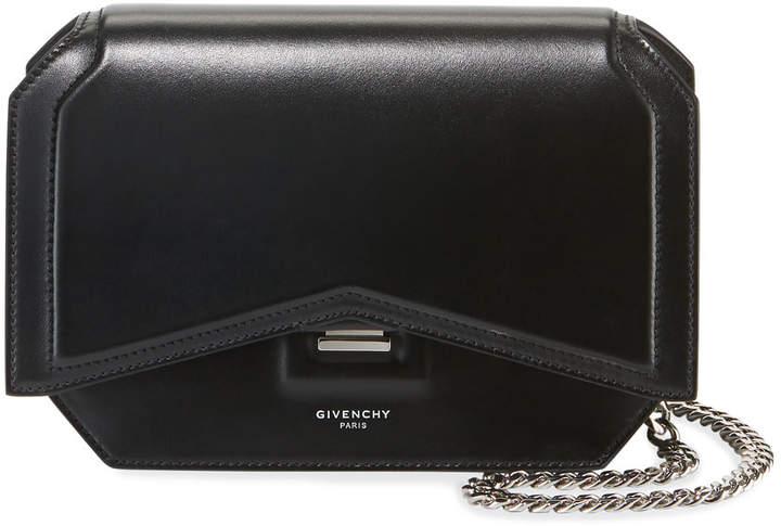Givenchy Bow-Cut Leather Crossbody Bag