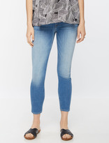 A Pea in the Pod 7 For All Mankind Secret Fit Belly Skinny Ankle Maternity Jeans