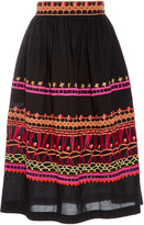 Temperley London Amity Cotton Skirt