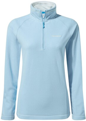 Craghoppers Miska Half Zip Fleece Top - Light Blue