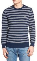 Lacoste Men's Waffle Stitch Stripe Sweater