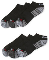 Reebok 6-Pack Performance Stripe Low Cut Socks
