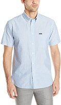 Façonnable Men's Cotton Linen Stripe Shirt
