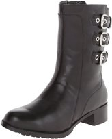 Adrienne Vittadini Trojan Women US 7 Black Mid Calf Boot