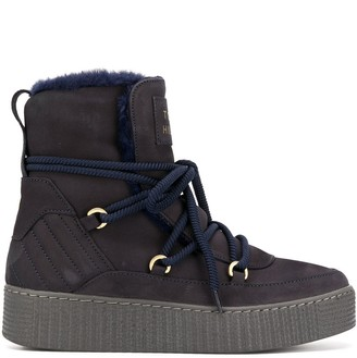 Tommy Hilfiger Shearling-Lined Winter Boots