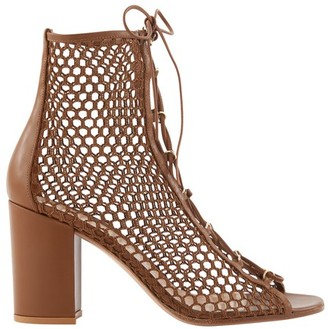 Gianvito Rossi Leather laced sandals