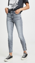 Mother Swooner Ankle Zip Jeans