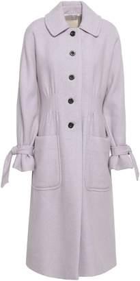 Rebecca Taylor Melange Wool-blend Felt Coat