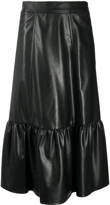 Philosophy di Lorenzo Serafini High-Waist Ruffled Hem Skirt