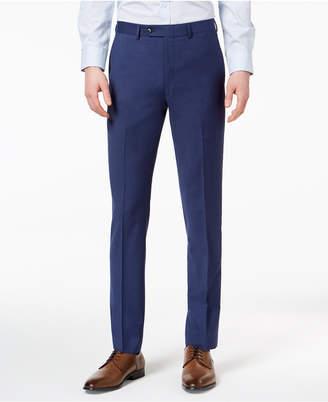 Calvin Klein Men Extra-Slim Fit Infinite Stretch Blue Twill Suit Pants