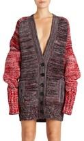 Burberry Women's Cashmere, Cotton & Wool Blend Oversized Cardigan