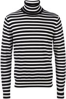 Paul Smith striped turtleneck jumper