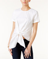 Bar III Knot-Front Top, Only at Macy's