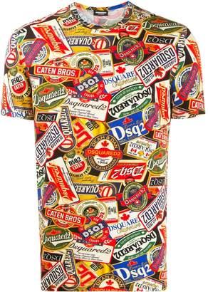 DSQUARED2 logomania T-shirt