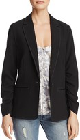 Elizabeth and James Myrla Ruched-Sleeve Blazer