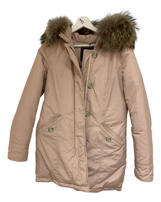 Woolrich Pink Polyester Jackets