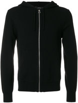 Joseph zipper hooded sweater