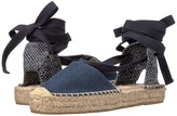 Soludos Denim Platform Gladiator Sandal Women's Sandals