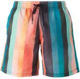 Paul Smith striped swim trunks