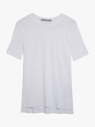 Oasis Step Hem Short Sleeve T-Shirt