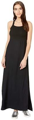 Hurley Mixup Maxi Dress (Black) Women's Dress