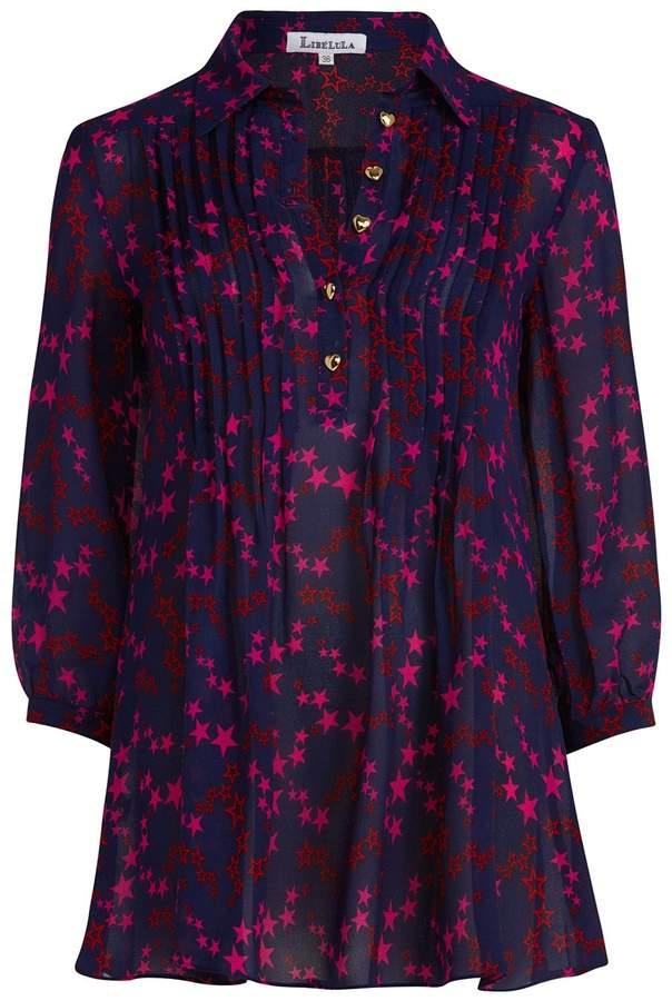 Libelula Isla Shirt Top Twinkle Print