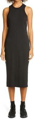 John Elliott Supima(R) Cotton Racerback Midi Dress