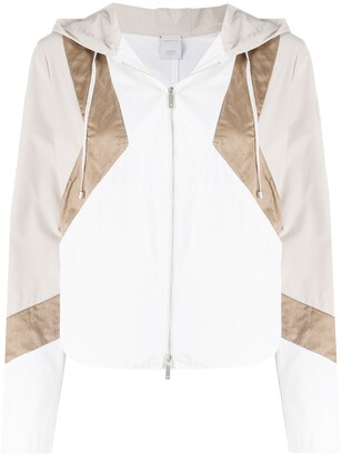 Lorena Antoniazzi Geometric Zip-Up Jacket