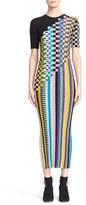 Missoni Women's Check Knit Wool Blend Midi Dress