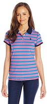 U.S. Polo Assn. Junior's Striped Jersey Polo Shirt