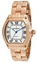 Peugeot Women's Rosetone Roman Numeral Bracelet Watch