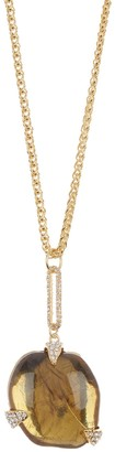 """Vince Camuto 30"""" Resin Pendant Necklace"""