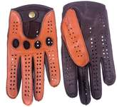 Men's Driving Gloves Lambskin Leather By Hungant