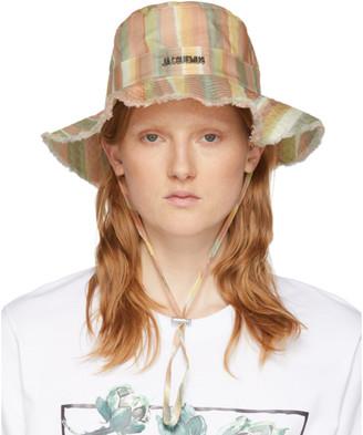 Jacquemus Multicolor Striped Le Bob Artichaut Bucket Hat