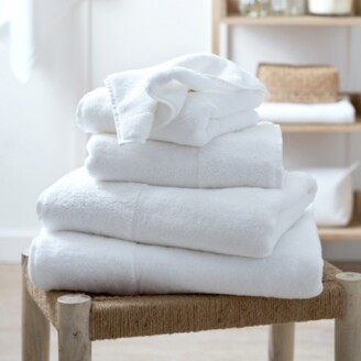 The White Company Classic Hydrocotton Towel, White, Face Cloth