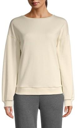 Lea & Viola Solid Sweatshirt