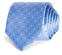HUGO BOSS Dots & Circles Silk Skinny Tie