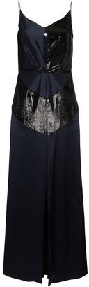 Michael Lo Sordo Silk Mini Dress