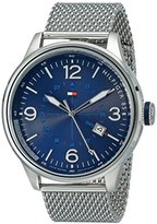 Tommy Hilfiger Men's 1791106 Sophisticated Sport Stainless Steel Watch with Mesh Bracelet
